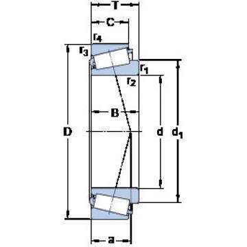 Rodamiento M 270749/710 SKF