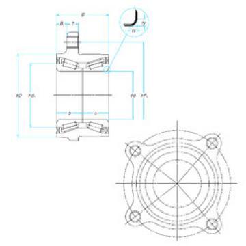 Rodamiento ZA-/H0/52KWH01-Y--01 NSK