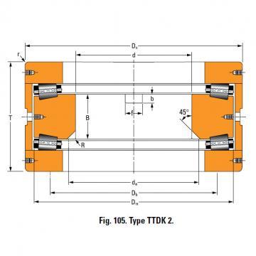 Bearing T660FA Thrust Race Single