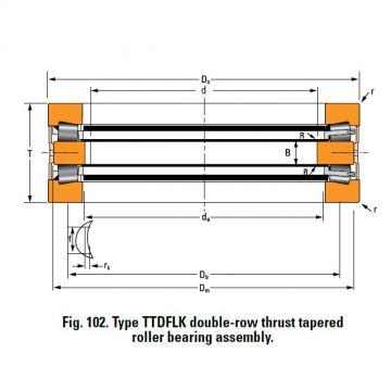 Bearing D3639C Thrust Race Single